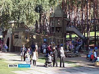 """В Воронеже состоялось торжественное открытие парка """"Алые паруса"""""""