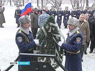 В Воронеже состоялось возложение венков к мемориалу воинам-интернационалистам