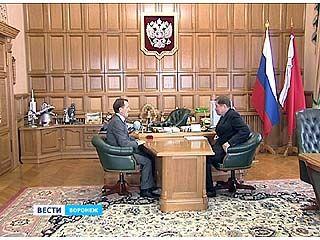 В Воронеже состоялось выездное заседание Российского союза строителей