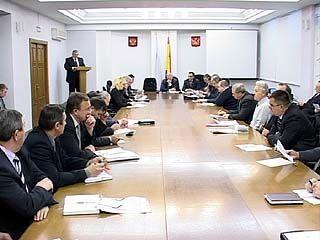 В Воронеже состоялось заседании областной транспортной комиссии