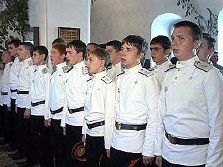 В Воронеже состоялся выпуск кадетов