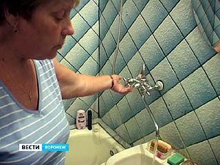 В Воронеже сотни семей остались без горячей воды