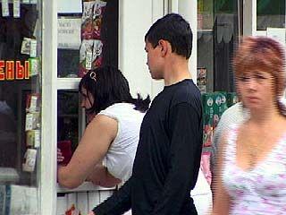 В Воронеже спиртное продают даже детям