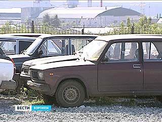 В Воронеже стартовала новая утилизация автохлама