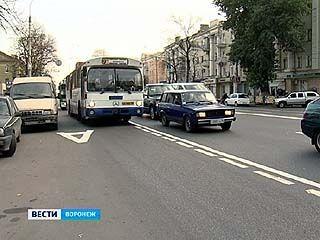 В Воронеже стартовала работа по реорганизации дорожного движения
