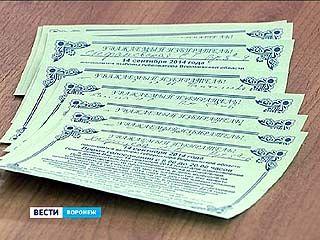 В Воронеже стартовала рассылка персональных приглашений для голосования