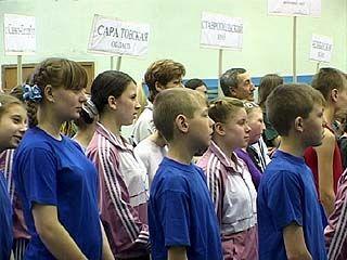 В Воронеже стартовала Специальная Олимпиада по спортивной гимнастике
