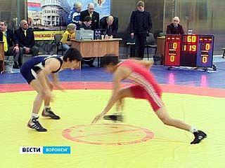 В Воронеже стартовали состязания ЦФО по вольной борьбе