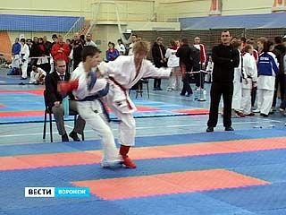 В Воронеже стартовали Всероссийские соревнования по каратэ