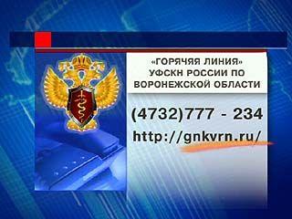В Воронеже теперь можно пожаловаться на наркополицейских