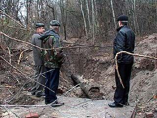 В Воронеже украдена бесхозная водопроводная труба из-под земли