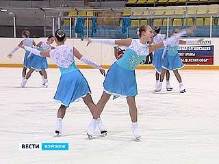 В Воронеже успешно развивается синхронное фигурное катание