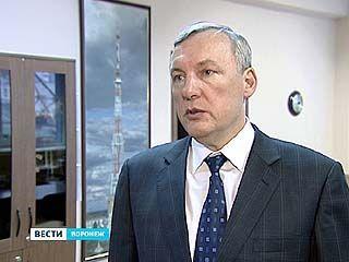 В Воронеже установлена первая антенна для цифрового телевидения
