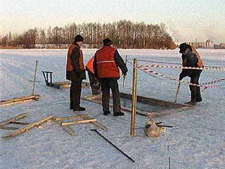 В Воронеже уже готовятся к крещенским купаниям