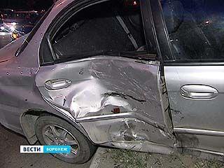 В Воронеже в ДТП пострадал ребёнок