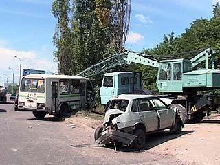 В Воронеже вновь произошло ДТП с участием маршрутки