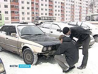 В Воронеже воруют автомобильные номера