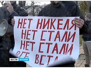 В Воронеже впервые митинговали не против, а за добычу никеля