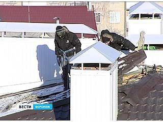В Воронеже впервые начали сносить незаконный жилой дом - на улице Путиловской