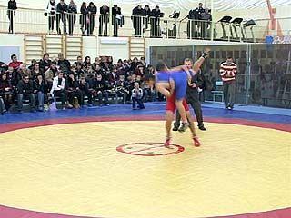 В Воронеже впервые прошел командный турнир по греко-римской борьбе