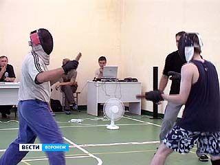 В Воронеже впервые провели чемпионат по ножевому бою