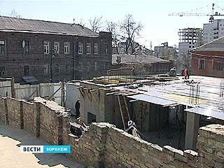 В Воронеже временно приостановлена выдача разрешений на использование земли и строительство в центре города