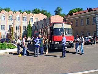 В Воронеже встречали участников необычного автопробега