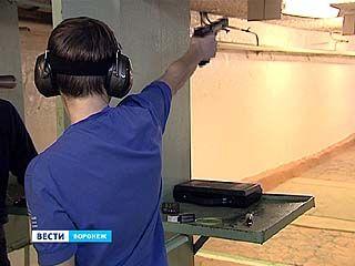 В Воронеже выбирают самого меткого стрелка