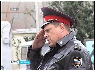 В Воронеже выбрали лучшего участкового области