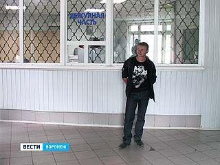 В Воронеже задержали угонщика