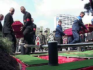 В Воронеже захоронили останки генерала Лизюкова