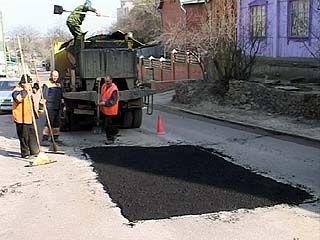 В Воронеже закончили гарантийный ремонт дорог