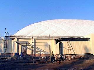 В Воронеже завершается строительство спортивного комплекса