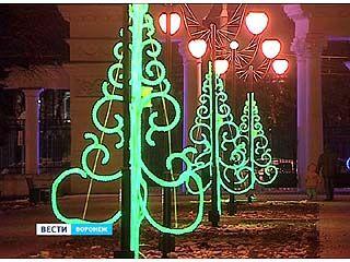 В Воронеже завершаются приготовления к новогодним торжествам