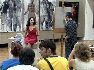 В Воронеже завершилась выставка художника Николая Блохина