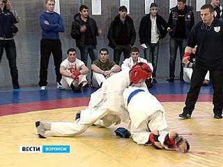 В Воронеже завершился чемпионат области по рукопашному бою