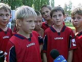 В Воронеже завершился детский футбольный турнир