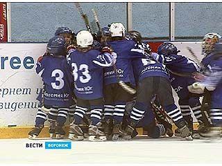 В Воронеже завершился первый детский новогодний блиц-турнир по хоккею