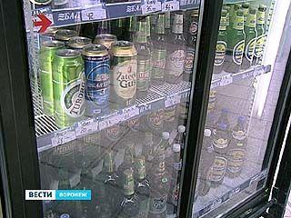 В воронежских киосках снова появляются алкогольные коктейли