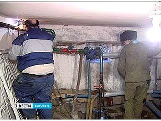 В воронежских многоэтажках с центральным водоснабжением заменят трубы
