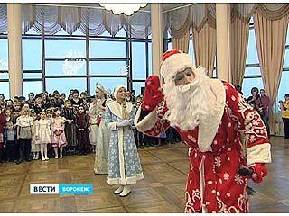 В Воронежском концертном зале открыли губернаторскую ёлку