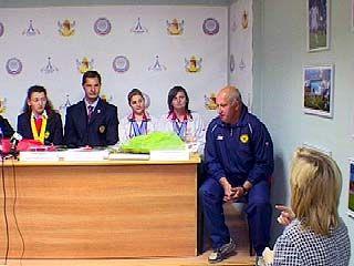 В Воронежском музее спорта поздравляли паралимпийцев