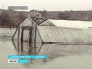 В Воронежском регионе подсчитывают ущерб, который нанес паводок