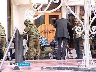 В Воронежском театре драмы прошли учения антитеррористического комитета