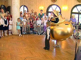 В Воронежском театре кукол поздравили будущих первоклассников