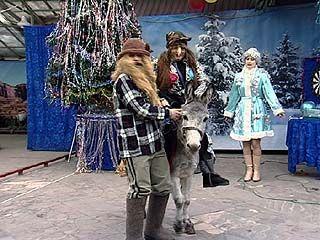 В Воронежском зоопарке прошла благотворительная ёлка