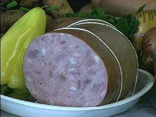 В воронежской колбасе есть мясо