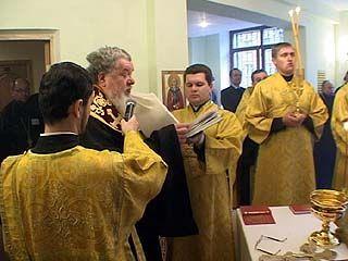 В Воронежской медицинской академии открылся домовой храм