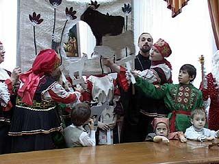 В воронежской мэрии разыграли рождественский спектакль