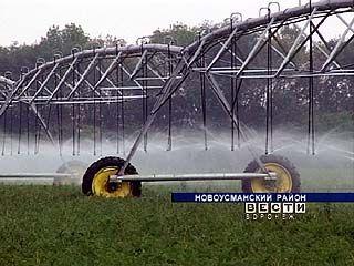 В Воронежской области будут внедрять систему мелиорации земель
